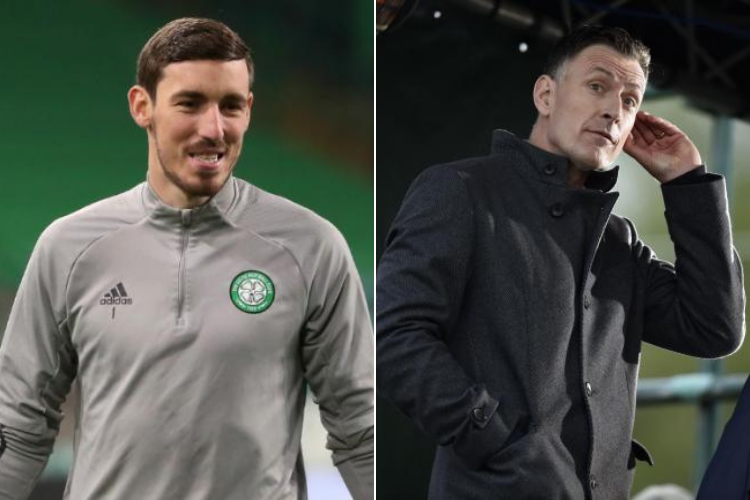 Chris Sutton aims cheeky swipe at Celtic goalkeeper Vasilis Barkas after Livingston draw