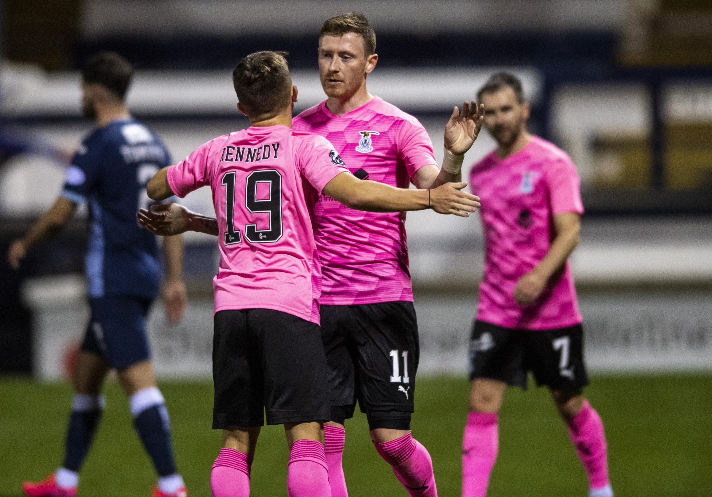 Inverness' Shane Sutherland has a point to prove against Queen of the South