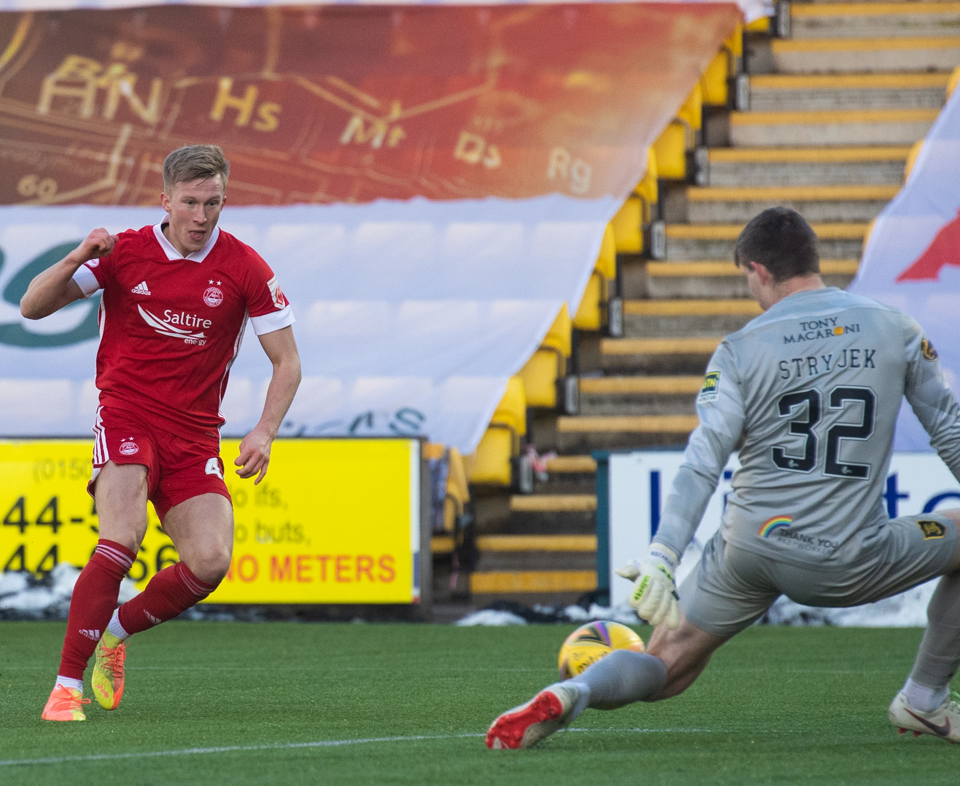 Livi run continues as need for strike options shows for Aberdeen