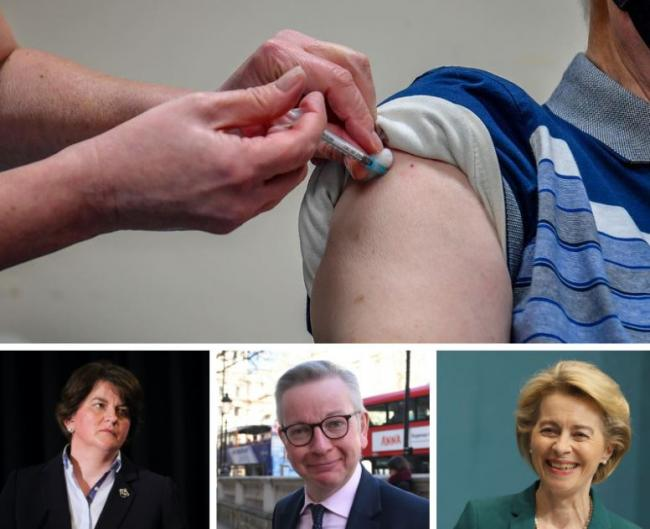 UK confident that EU will not block vaccines following Northern Ireland 'mistake' over Covid vaccine controls