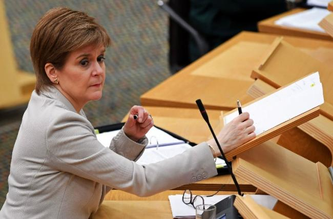 Nicola Sturgeon prepares to update MSPs on coronavirus arrangements on Tuesday.