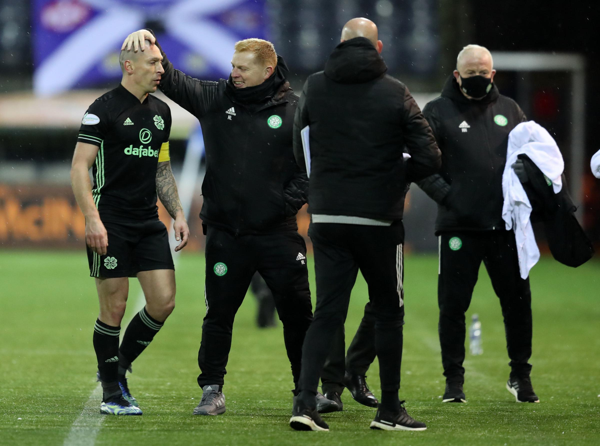 Neil Lennon delighted with Celtic players' reaction to his weekend rocket