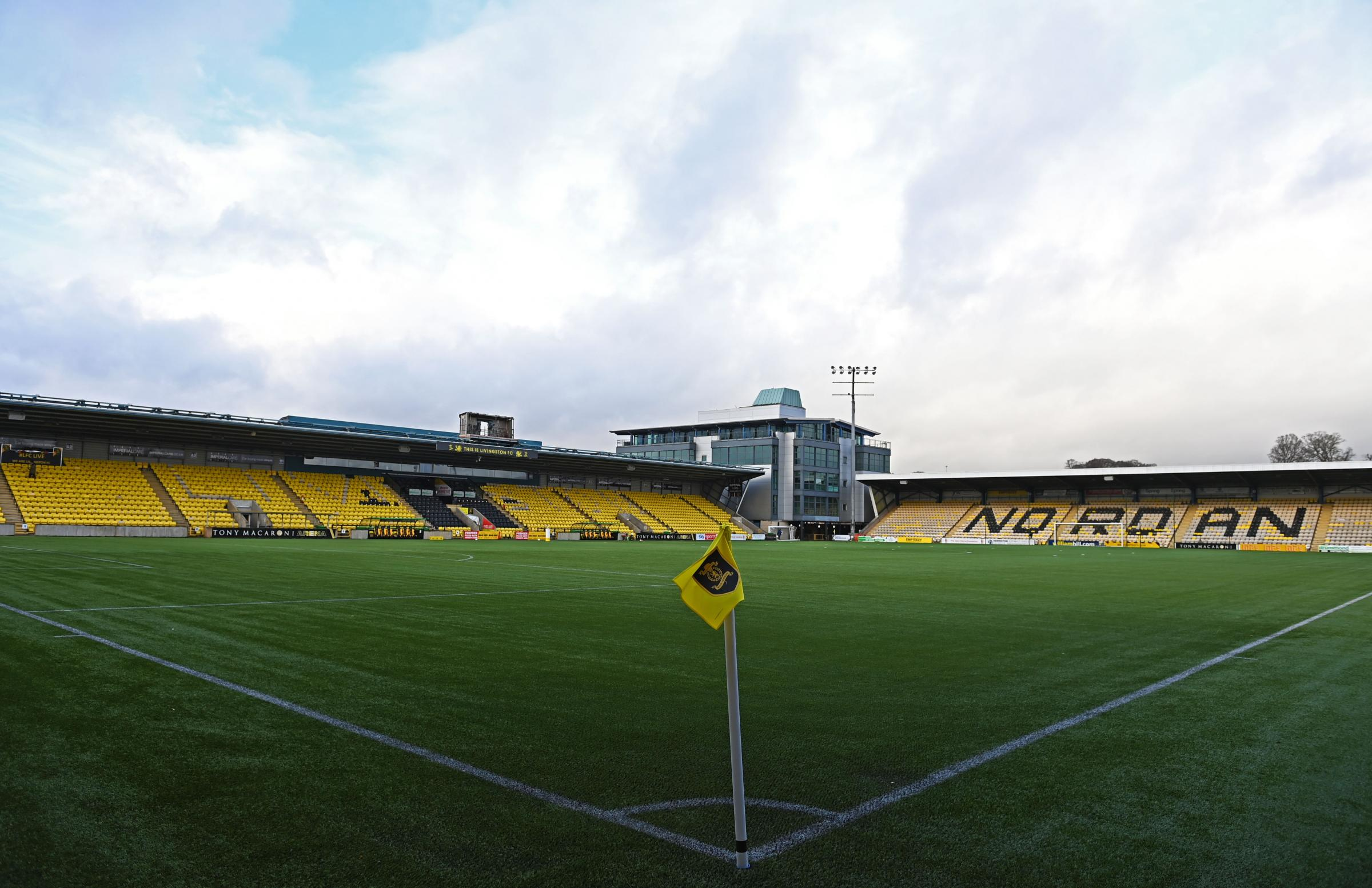 Livingston confirm postponement of Scottish Premiership match with Hamilton