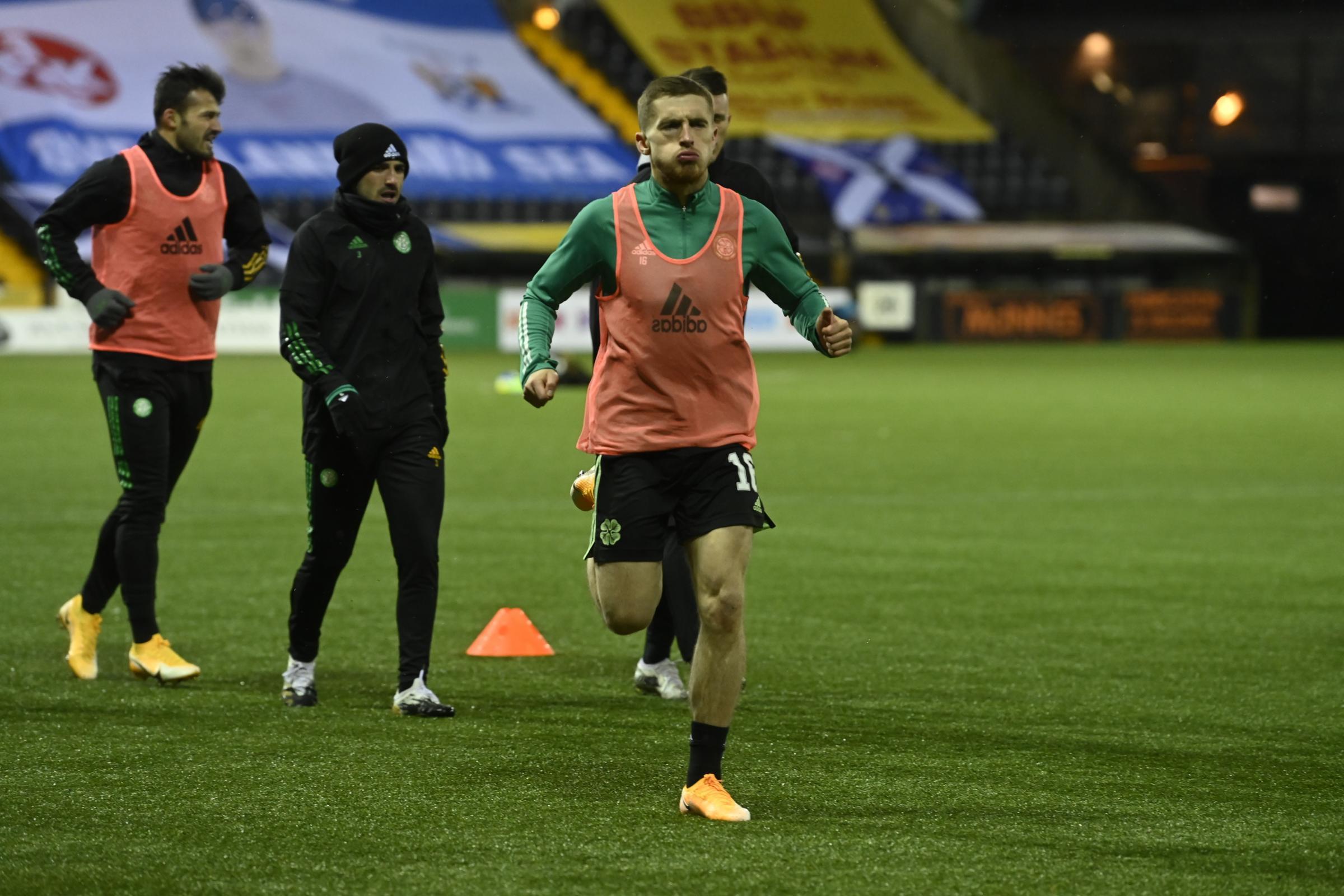 Jonjoe Kenny on keeping tabs on Robert Lewandowski and his family's Celtic connections