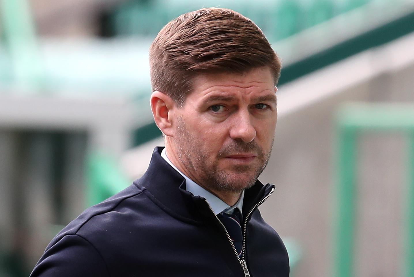 Steven Gerrard makes three Rangers changes for Hamilton Scottish Premiership clash
