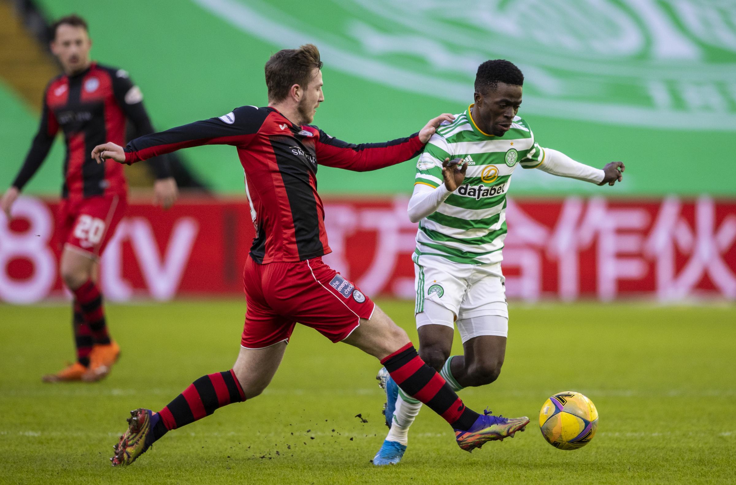 St Mirren have no fears going into Celtic clash after Parkhead triumph, says Kyle McAllister
