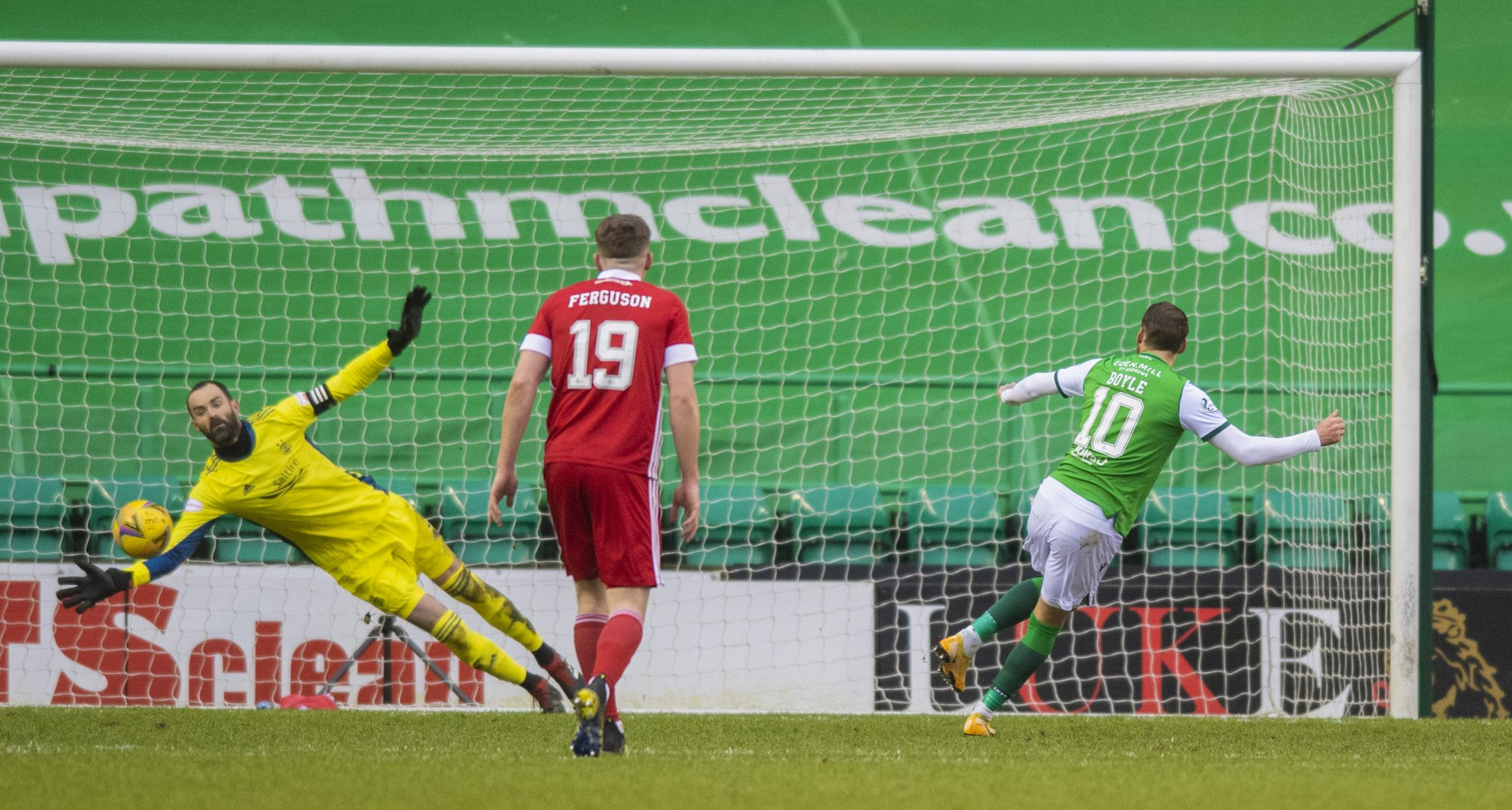 Hibs' Martin Boyle on Aberdeen victory and return to form