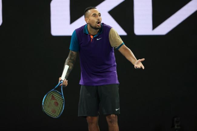 Nick Kyrgios has continued his war of words with Novak Djokovic