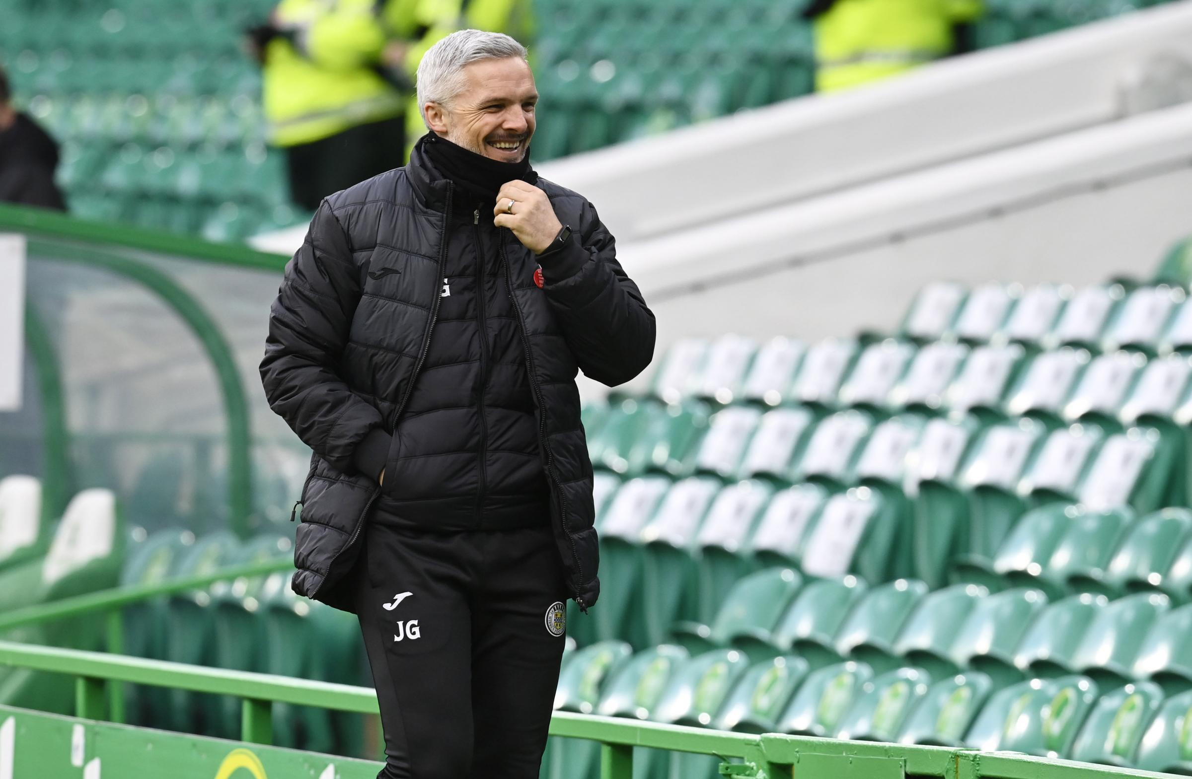 St Mirren boss Jim Goodwin dreaming of one day managing Ireland
