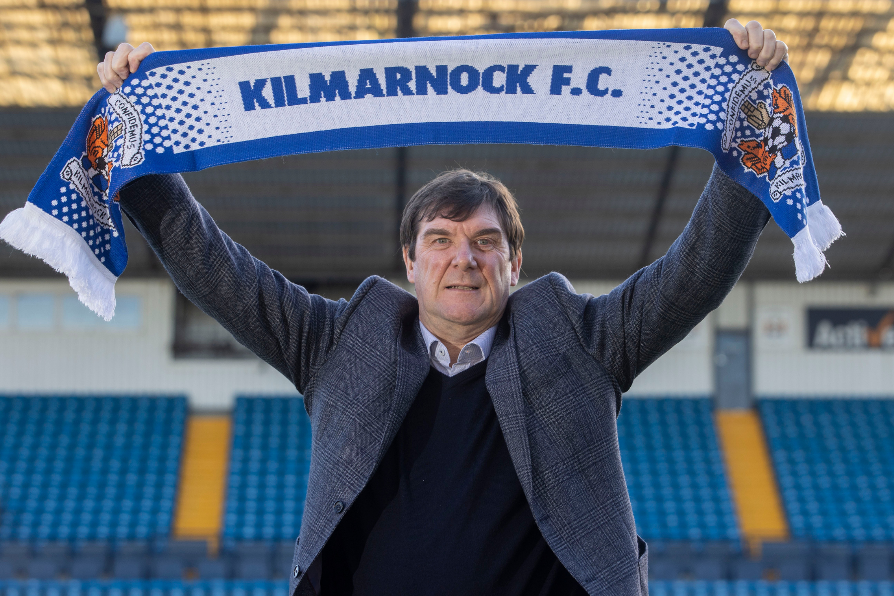 Tommy Wright knew Kilmarnock job was right after Sahara Desert Fitbit notification