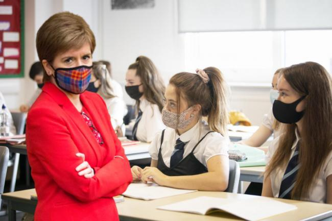 Nicola Sturgeon has warned extra support may be needed past the summer for school pupils