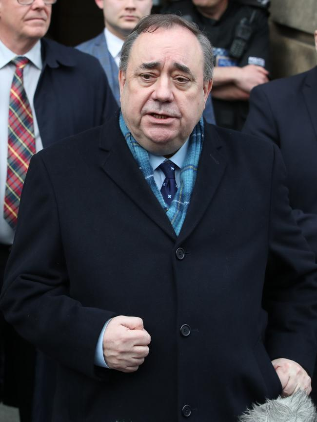 The Salmond affair will have real historical significance regardless of its outcome.  Picture: Jane Barlow/PA Wire