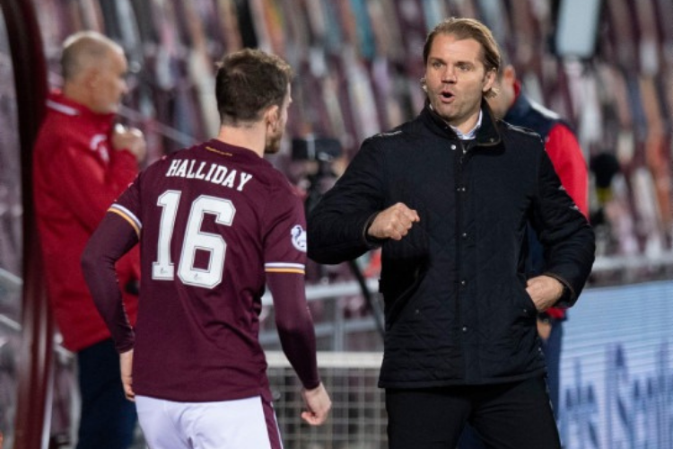 Andy Halliday credits Robbie Neilson dressing down for upturn in Hearts form