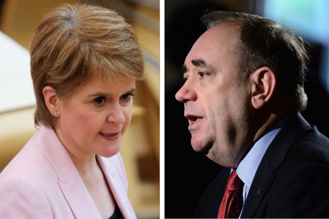 "The First Minister has insisted there is not ""a shred of evidence"" to support her former mentor's claim."