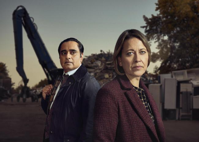 Undated ITV Handout Photo from Unforgotten. Pictured: Nicola Walker as DCI Cassie Stuart, Sanjeev Bhaskar as DI Sunny Khan. See PA Feature SHOWBIZ TV Unforgotten. Picture credit should read: ITV. WARNING: This picture must only be used to accompany PA?Fea