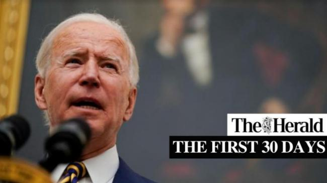 Joe Biden's first month as president - Part 2.