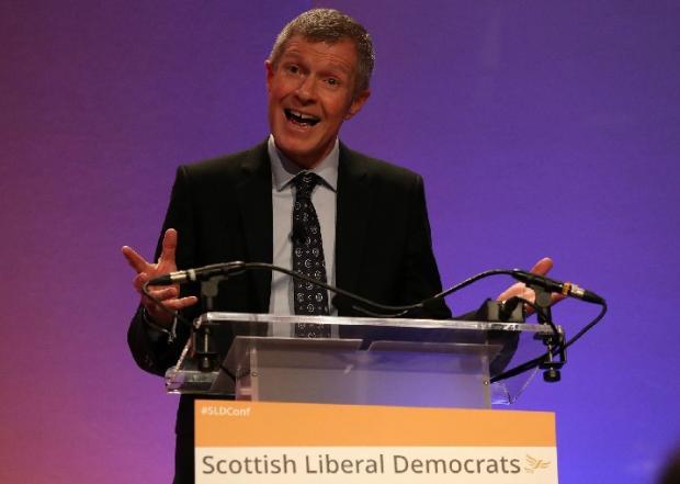 HeraldScotland: Scottish Liberal Democrat leader Willie Rennie.