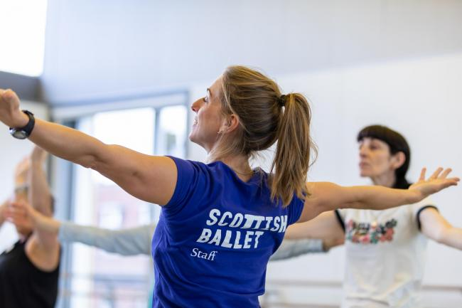 Scottish Ballet launches Focus on Wellbeing campaign for NHS and social care staff