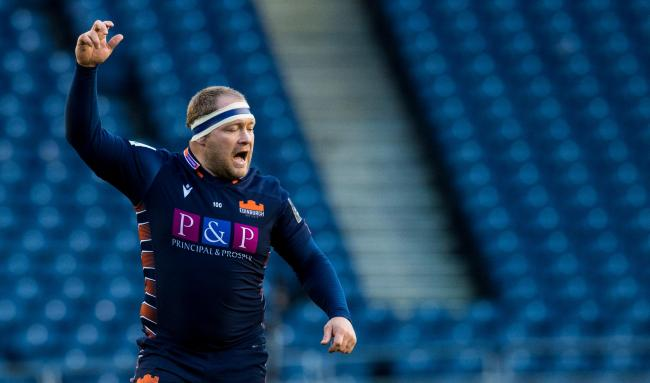 WP Nel has signed a new deal with Edinburgh