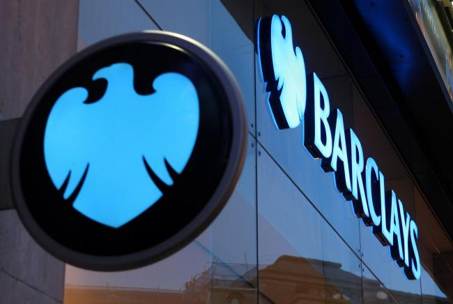 Shares in Barclays closed up 5.12p, or 2.8%, at 189.76p