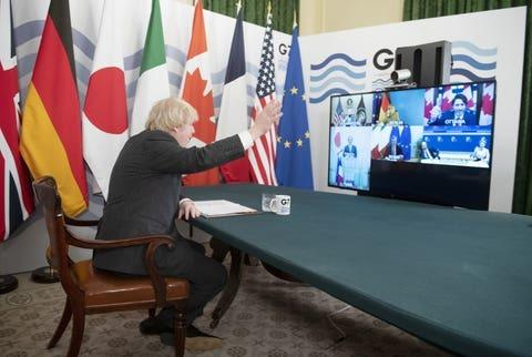 All for one: Johnson welcomes G7 colleagues to virtual summit where they pledged to boost funding to get vaccines to poorer countries