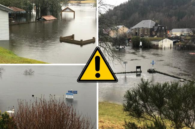 Homes evacuated after flooding due to heavy rain and melting snow