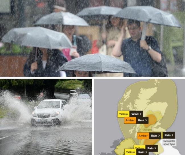 Scotland's weather: Flood warnings issued for parts of the country with heavy rain expected