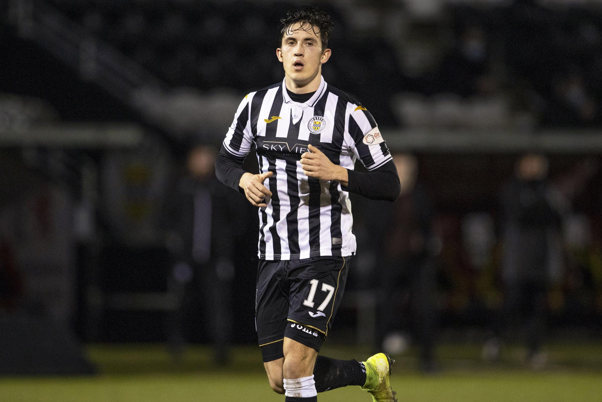 Jamie McGrath determined to play his part in St Mirren's top-six push