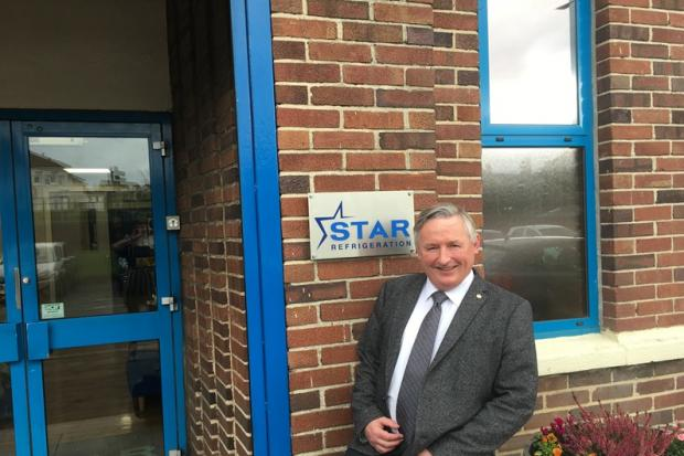 Andy Pearson says Star Refrigeration has 'always been willing to try new things'