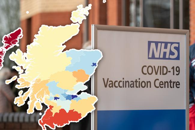 How many people have been vaccinated in Scotland? Local numbers as figure passes 1.6m