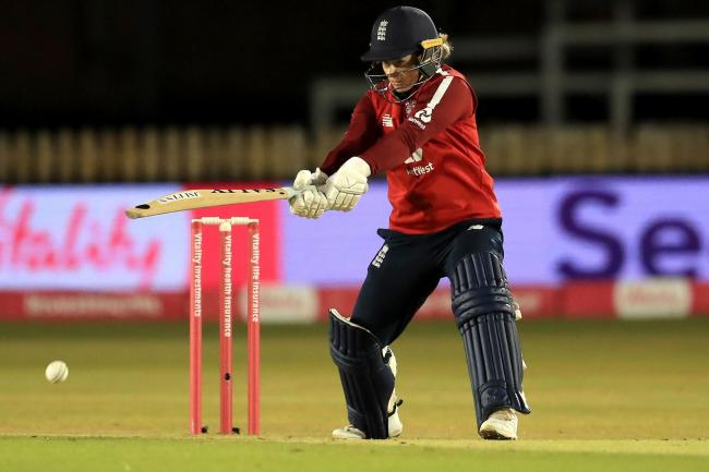 Tammy Beaumont top scored in England's successful run chase