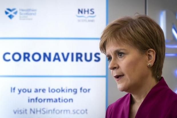 Sturgeon says changes to Scotland's lockdown rules could be made next week