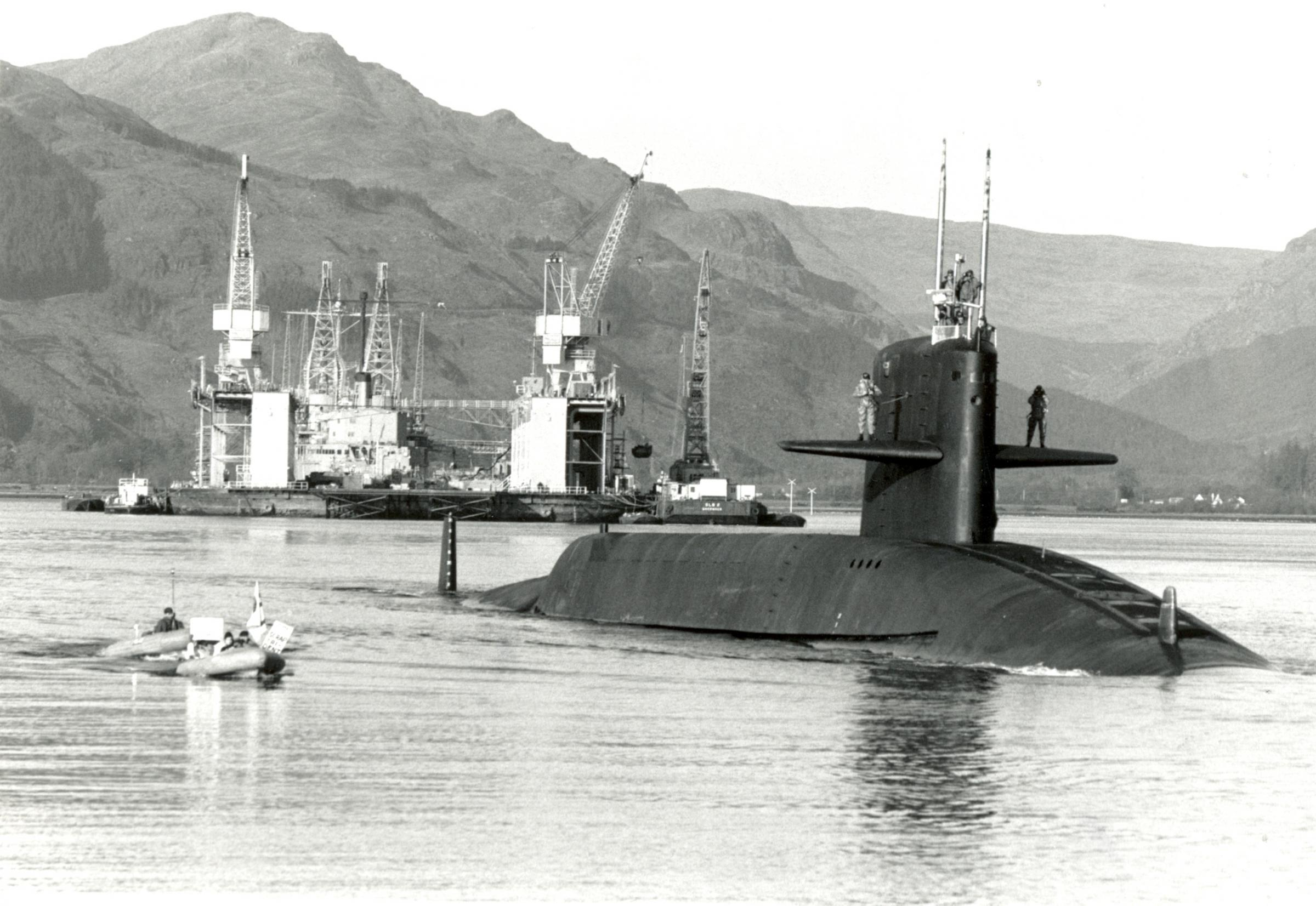 60 years on: The day the US Navy came armed with nuclear missiles