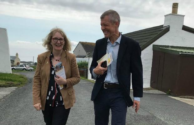HeraldScotland: Beatrice Wishart (pictured with Willie Rennie, who recently announced he would be stepping down as Scottish Liberal Democrat leader) is concerned about the impact of temporary contracts on teacher retention.