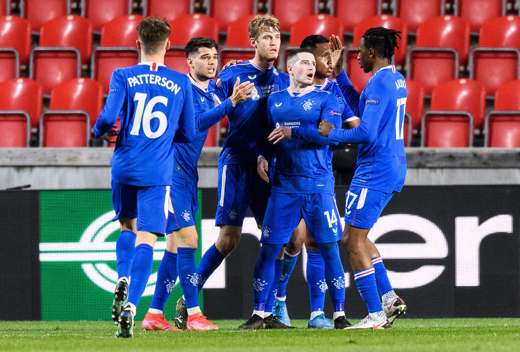 Slavia Prague 1-1 Rangers: Steven Gerrard's side have Europa League advantage ahead of Ibrox clash