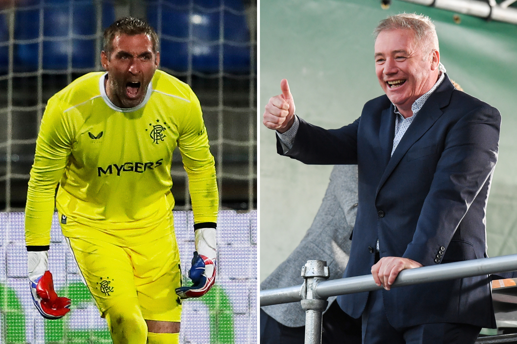 Ally McCoist compares Rangers keeper Allan McGregor to Gordon Banks after miracle Slavia Prague save