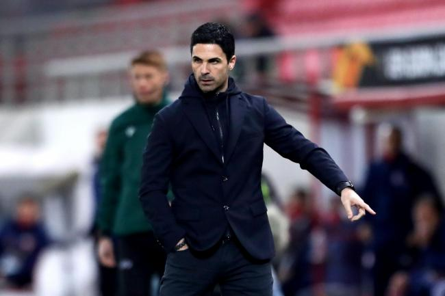 Mikel Arteta will hope to guide Arsenal into the semi-finals of another cup competition