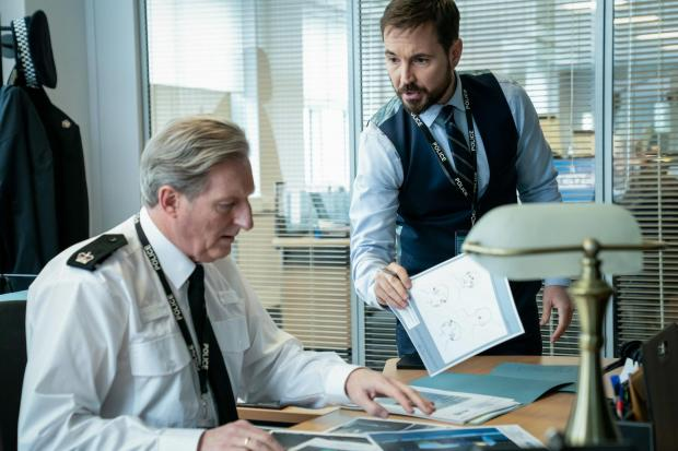 HeraldScotland: Line of Duty with Adrian Dunbar as Superintendent Ted Hastings, Martin Compston as DS Steve Arnott