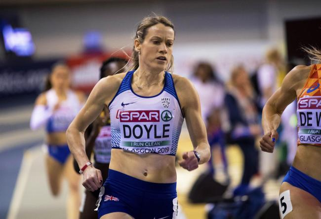 Eilidh Doyle returned to the top of her sport after having a baby
