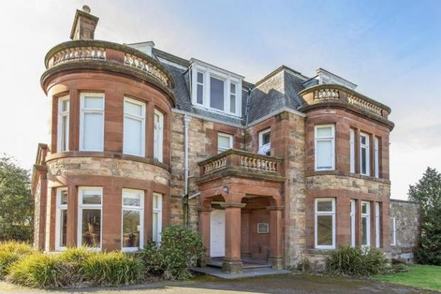 HeraldScotland: The building, which occupies a half-acre plot in the North Berwick's Dirleton Avenue, spans 9,108 sq ft, with 18 bedrooms over four storeys.