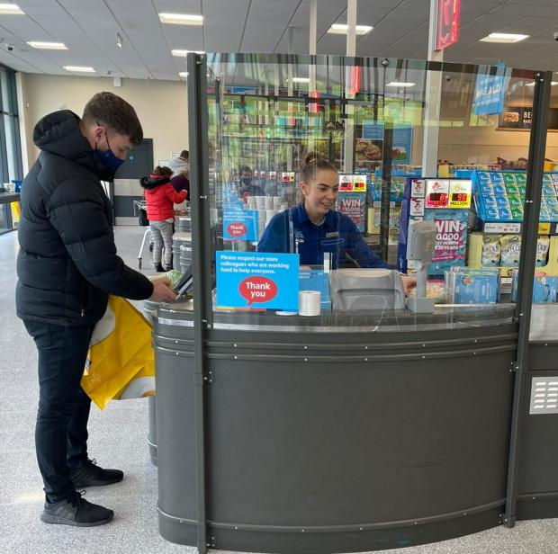 HeraldScotland: From April, Aldi will be rolling out the full list National Lottery games.. (Aldi)