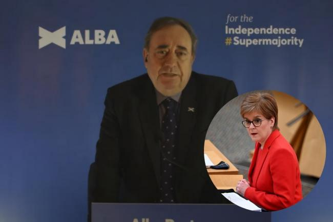 Alex Salmond has criticised the SNP setting out a timescale and route to a second independence referendum