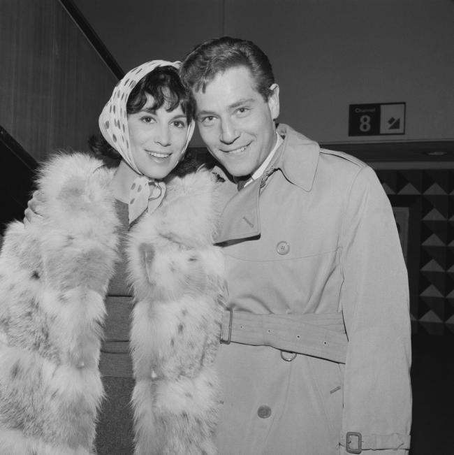 George Segal and his first wife, Marion Segal – film producer, editor and screenwriter – in May, 1965 (Photograph: Express/Hulton Archive/Getty Images)