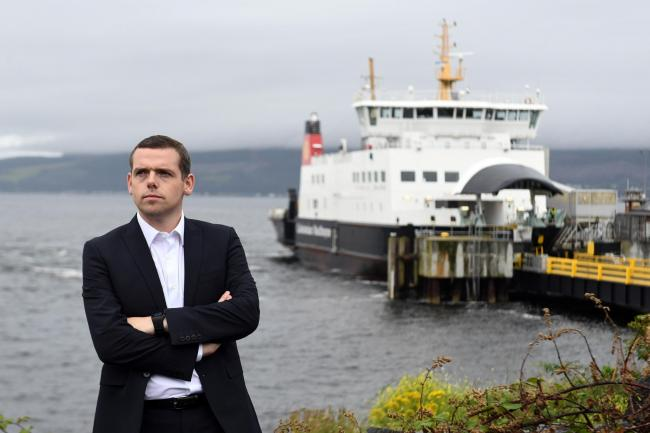 Douglas Ross has pledged to legislate on council funding
