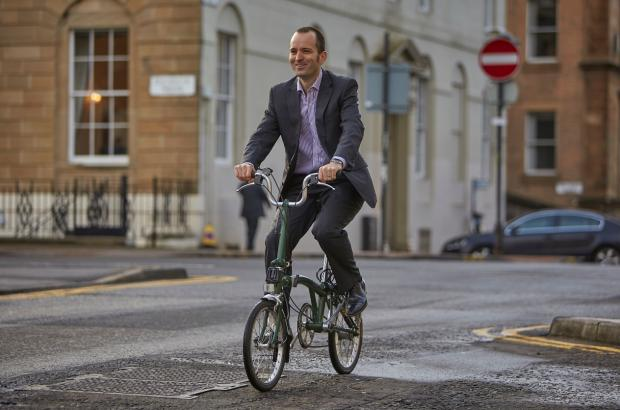 HeraldScotland: Keith Irving, chief executive Cycling Scotland