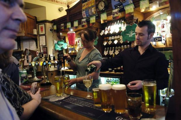 HeraldScotland: Pub-goers can order at the bar again from Monday