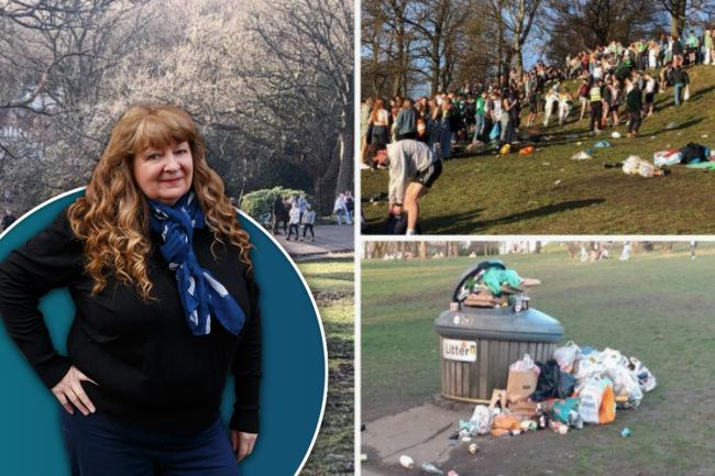 Janey Godley: Drinking alcohol in parks should be banned for everyone or open to all