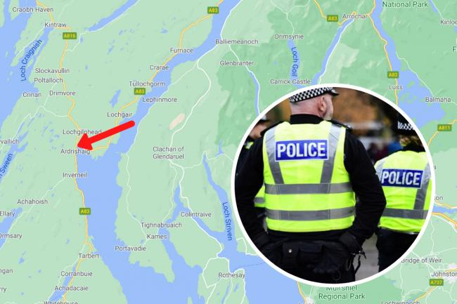 Two people in hospital after car plunges into loch near A83