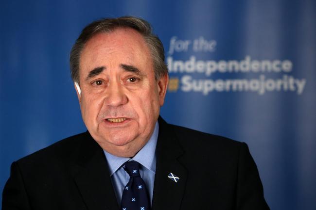 Salmond critica a Sturgeon por decir 'el tiempo está de su lado' sobre Indyref2