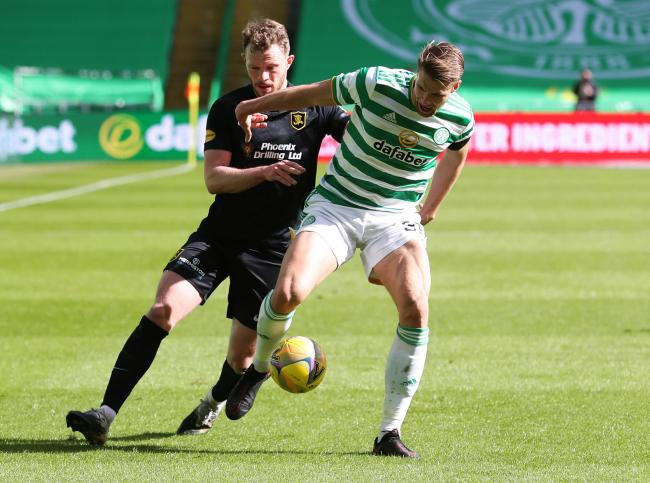Frank McAvennie says Kristoffer Ajer isn't interested in heading the ball.